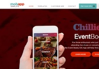 A great web design by Mobile App Template, California, CA: