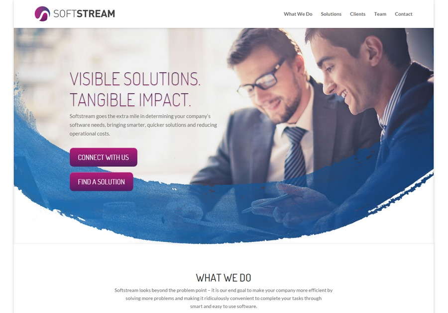 A great web design by SoftStream, Cagayan De Oro City, Philippines: Responsive Website, Marketing Website , Internet , PHP