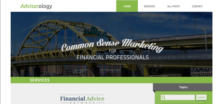A great web design by ProFromGo Internet Marketing, Pittsburgh, PA:
