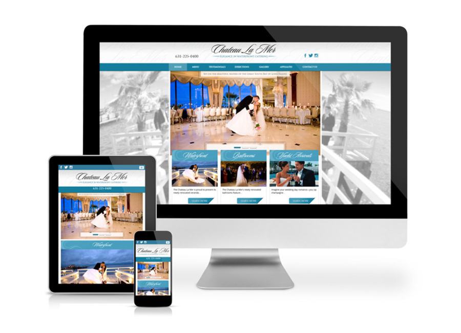 A great web design by WebDugout, Long Island, NY: Responsive Website, Restaurants & Bars