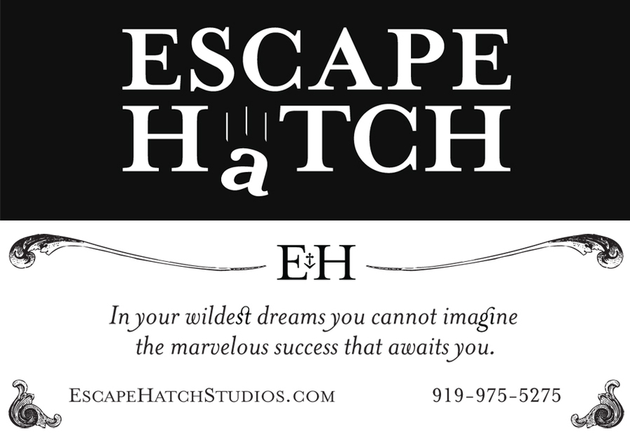 A great web design by Escape Hatch Studios, Raleigh, NC: