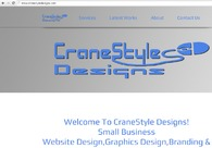 A great web design by CraneStyle Designs, New York City, VT: