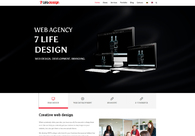 A great web design by 7 Life Design Ltd., Bulgaria, Bulgaria: Responsive Website, Portfolio , Technology , Wordpress