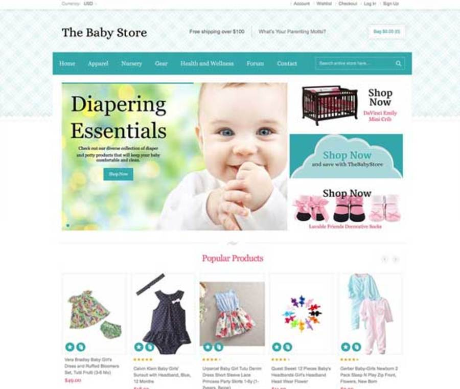 A great web design by Niche Websites, Toronto, Canada: Responsive Website, E-Commerce , Consumer Products , Magento