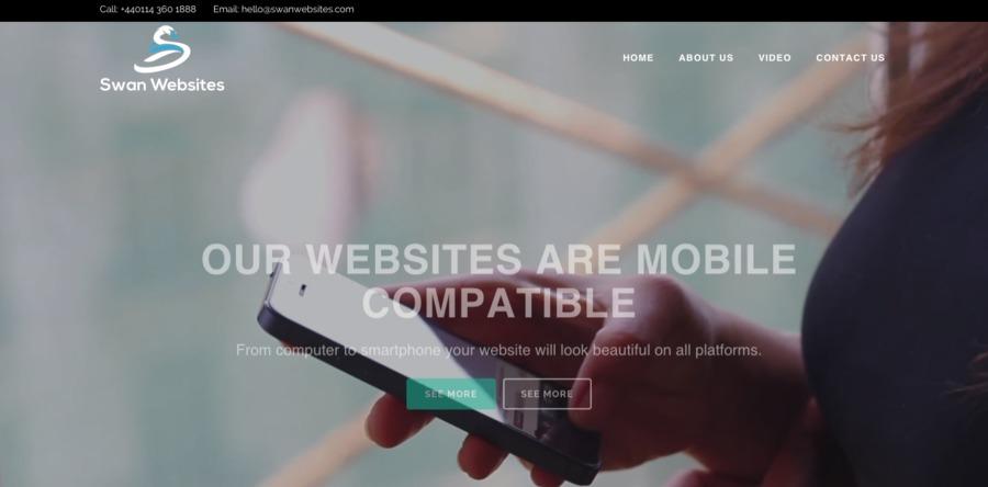 A great web design by Swan Websites, Sheffield, United Kingdom: