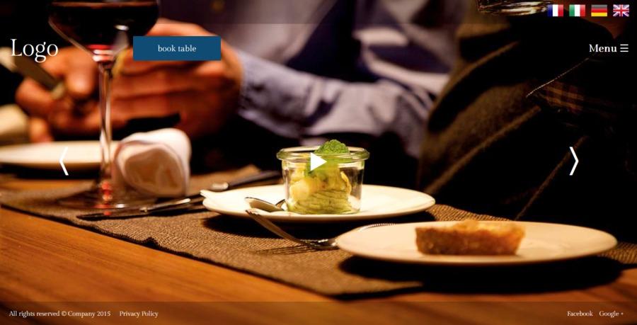 A great web design by W3Ape, Zug, Switzerland: Responsive Website, Portfolio , Restaurants & Bars, PHP