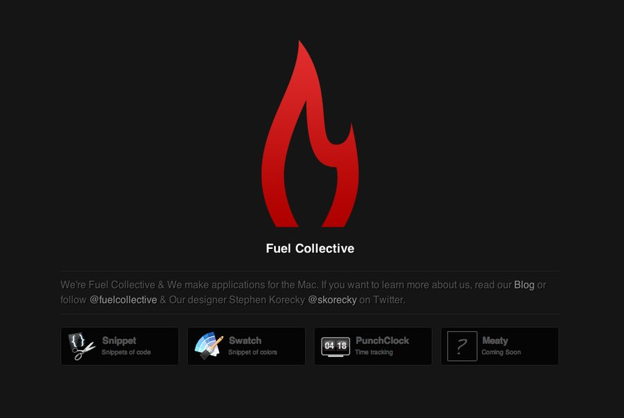 A great web design by Fuel Collective, Chicago, IL: