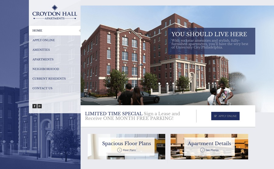 A great web design by BMJ Creative Group, Philadelphia, PA: