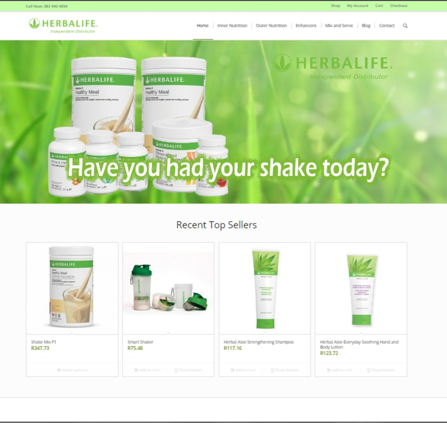 A great web design by Advertising Solutions, Johannesburg, South Africa: