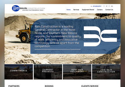 A great web design by Ketrics, Denver, CO: Responsive Website, Marketing Website , Construction , Wordpress