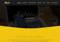 A great web design by ZigRock, Jammu, India: