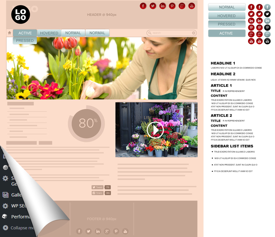 A great web design by Upmarket Design, London, United Kingdom: