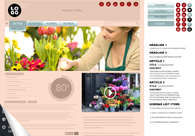 A great web design by Upmarket Design, London, United Kingdom: