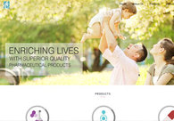 A great web design by TechTry Solutions Private Limited, Mumbai, India: Website, Pharmaceutical, Static HTML