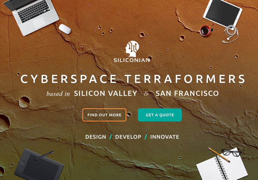 A great web design by Siliconian, San Francisco, CA: