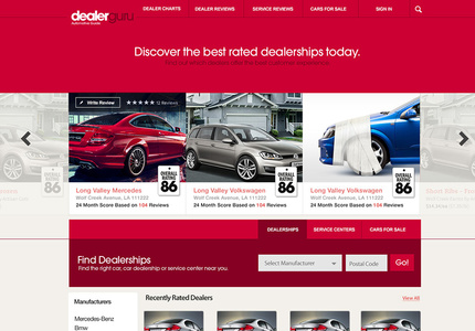 A great web design by drewwilliams.net, Toronto, Canada: Website, E-Commerce , Automotive , PHP