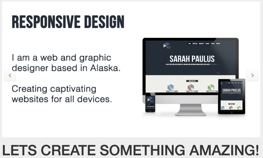 A great web design by Paulus Designs, Anchorage, AK: Responsive Website, Marketing Website , Technology