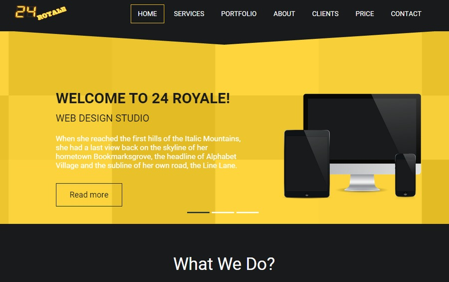 A great web design by Yashwanth Sagar, Hyderabad, India:
