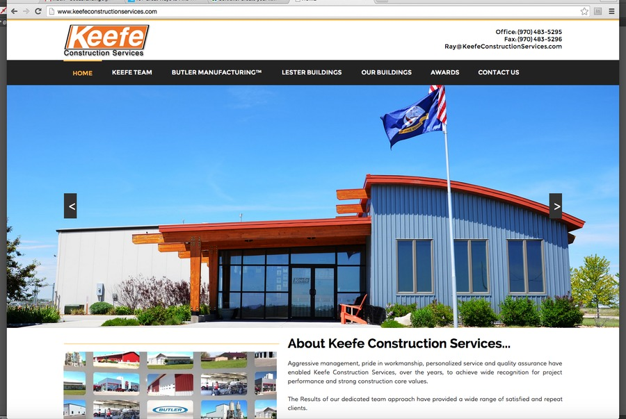 A great web design by Jupiter Media, West Palm Beach, FL: Website, Portfolio , Construction , Static HTML