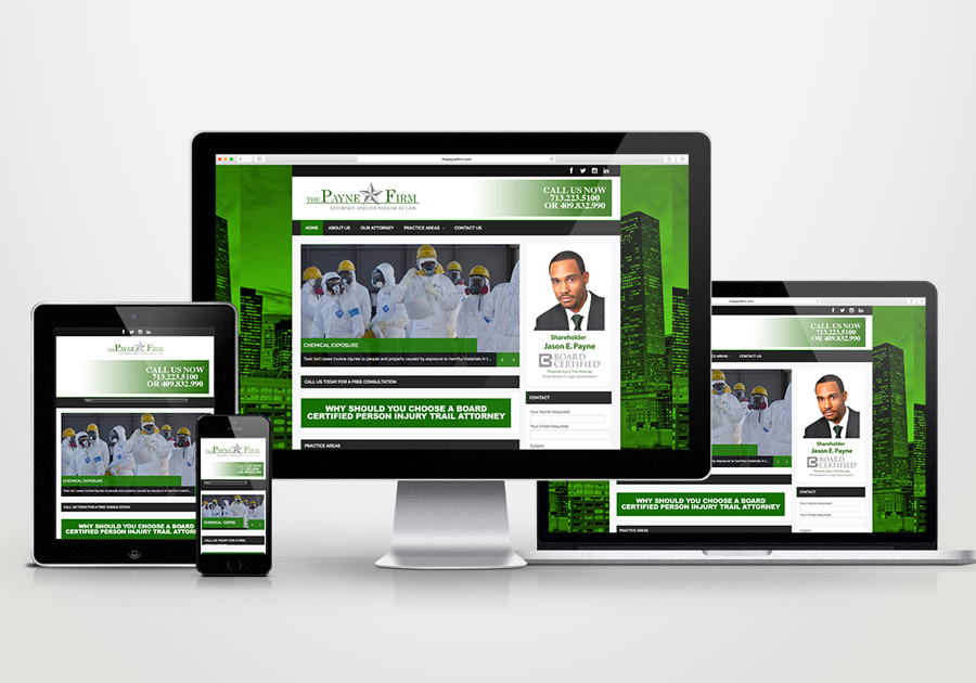 A great web design by Cosmo Creative Group, Houston, TX: