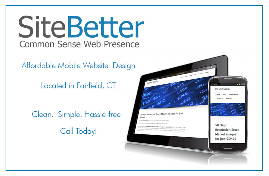 A great web design by Site Better, Stamford, CT: