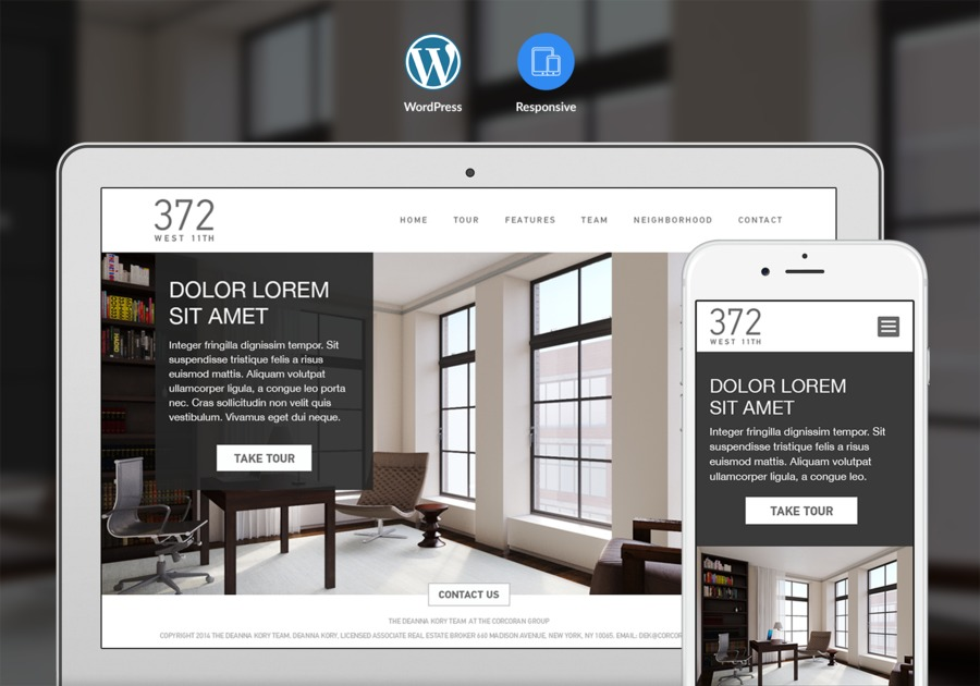A great web design by Pixel, New York, NY: Responsive Website, Marketing Website , Real Estate , Wordpress