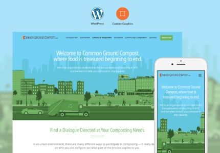A great web design by Pixel, New York, NY: Responsive Website, Marketing Website , Consulting , Wordpress
