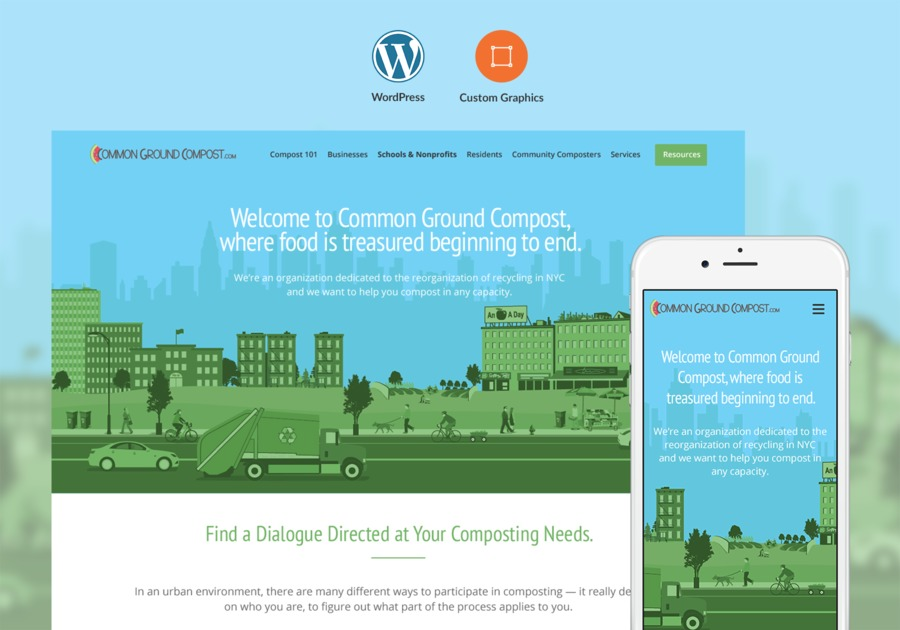 A great web design by Pixel, Chicago, IL: Responsive Website, Marketing Website , Agriculture , Wordpress