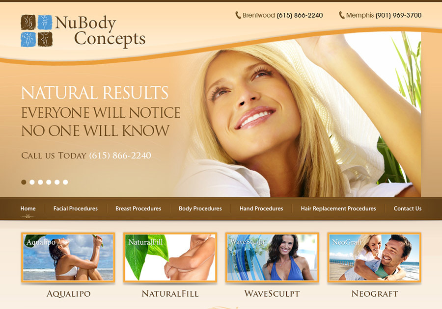 A great web design by WebFiner, San Jose, CA: Website, Marketing Website , Health & Beauty , Wordpress