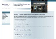 A great web design by miradlo Informatikdienstleistungen, Konstanz, Germany:
