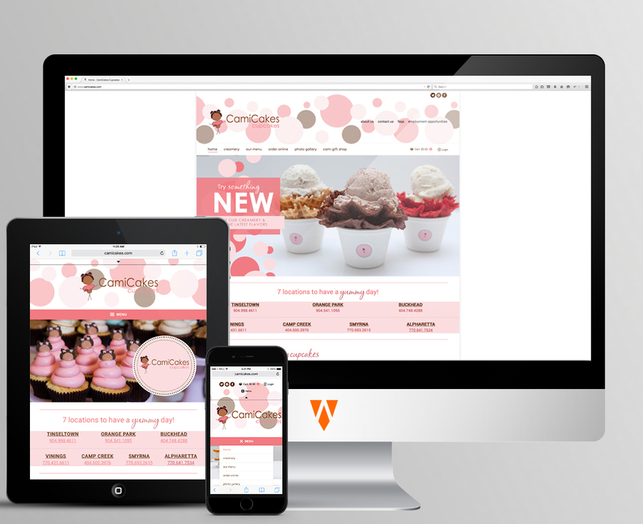 A great web design by RALPH WALKER DESIGNS, Detroit, MI: Website, E-Commerce , Food & Beverage , Wordpress