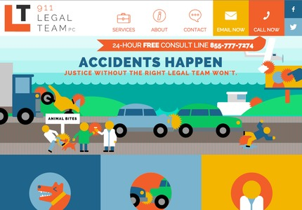 A great web design by Ben Lew, Colorado Springs, CO: Responsive Website, Legal , Wordpress