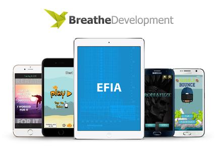 A great web design by Breathe Development, Seattle, WA: Mobile App , Game , Entertainment
