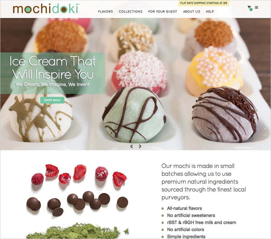 A great web design by HyQuality Media, New York, NY: Responsive Website, E-Commerce , Food & Beverage , Magento