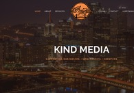 A great web design by Kind Media, Pittsburgh, PA: Responsive Website, Marketing Website , Marketing