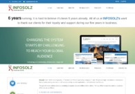 A great web design by Infosolz Consultancy and Services Pvt. Ltd. , New York, NY: