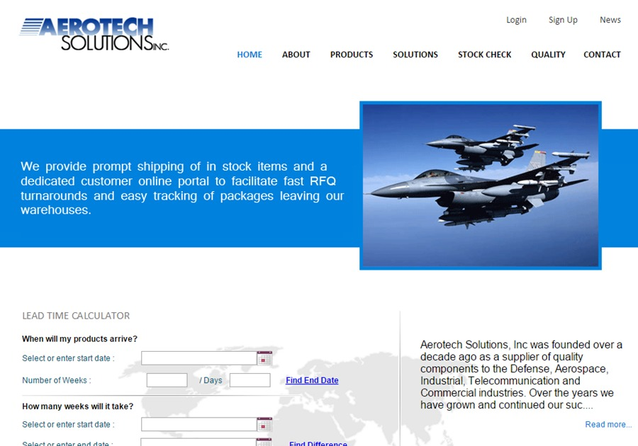 A great web design by Dark Bear Web Solutions LLC, San Martin, CA: