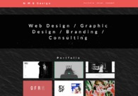 A great web design by N M B Design, Los Angeles, CA: