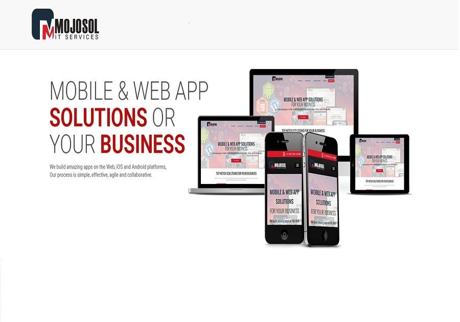 A great web design by Mojosol, Hayward, CA:
