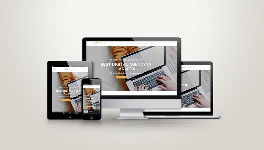 A great web design by Exalt Atelier, Jakarta, Indonesia: