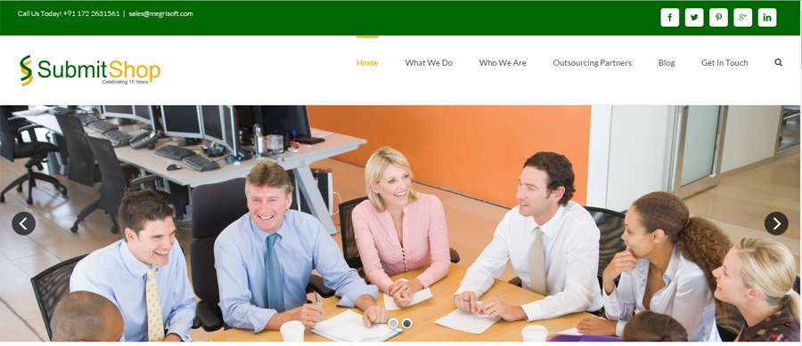 A great web design by Megrisoft Limited, India, UT:
