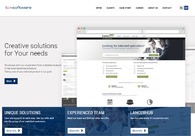 A great web design by TC Software, Warsaw, Poland: Responsive Website, Marketing Website , Technology , PHP