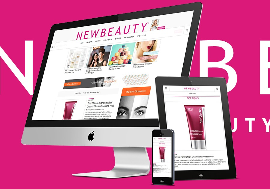 A great web design by Digital Marauders, New York, NY: Responsive Website, Publishing , Health & Beauty , Django