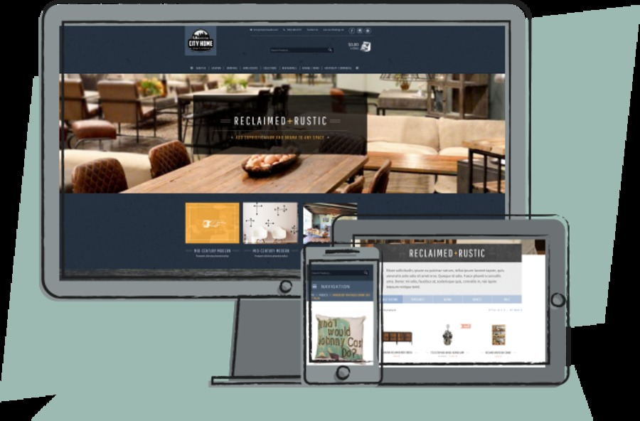 A great web design by Businesstastic, Portland, OR: