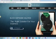 A great web design by BLESSY SOFTWARE SOLUTION, Jaipur, India: