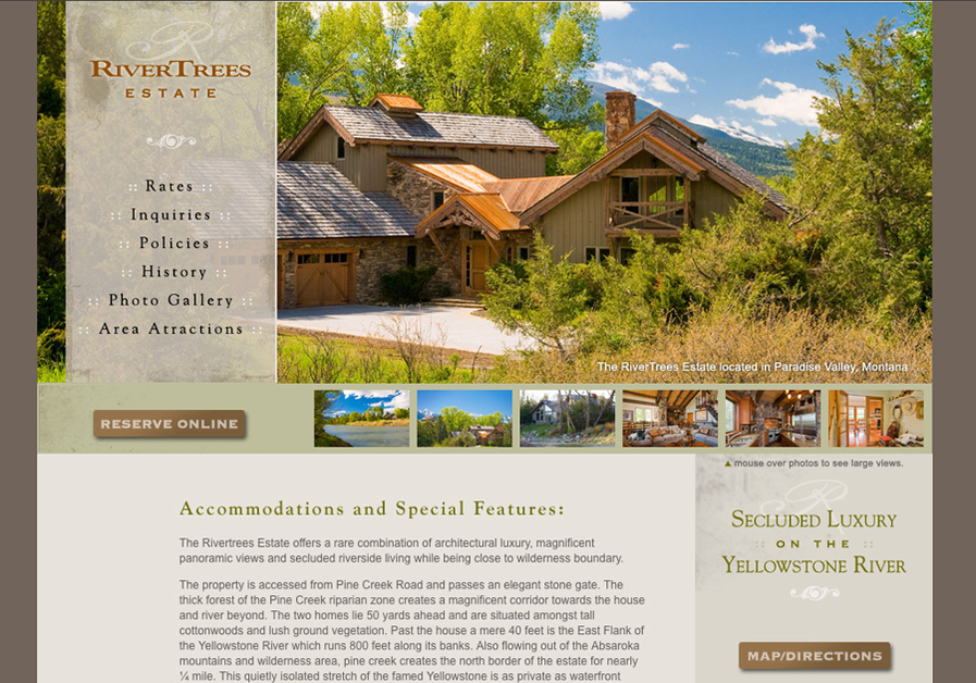A great web design by Bunkers Design, Inc, Denver, CO: