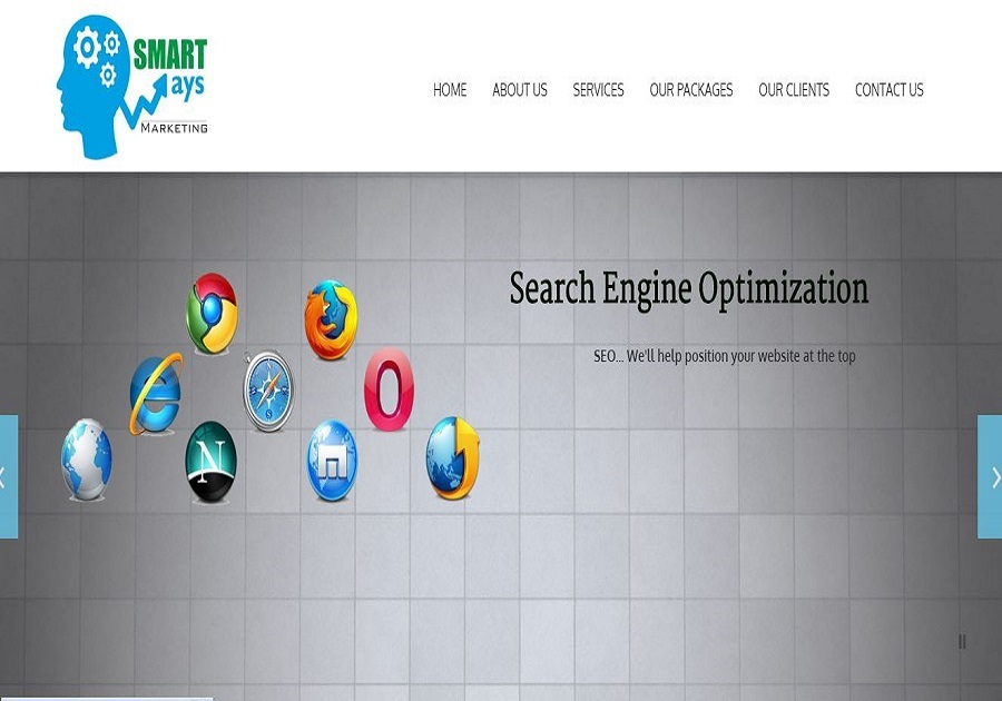 A great web design by Smartways Marketing, Melbourne, Australia:
