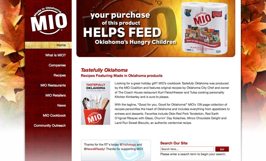 A great web design by CW Design, Oklahoma City, OK: