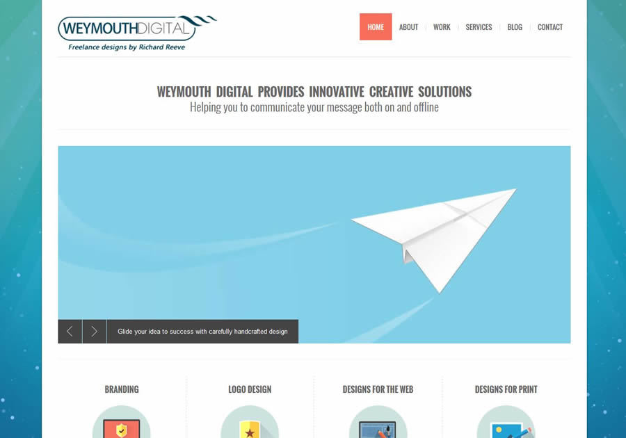 A great web design by Weymouth Digital, Weymouth, United Kingdom: