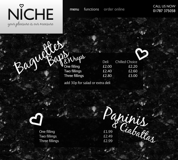 A great web design by Alex Chittock, Colchester, United Kingdom: